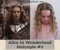 Alice in Wonderland Hairstyle #2