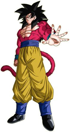 Goku render [Xkeeperz] by on DeviantArt Dragon Ball Gt, Akira, Super Saiyan 4 Goku, Gogeta And Vegito, Kid Goku, Anime Watch, Comic Manga, Dbz Characters, Animes Wallpapers