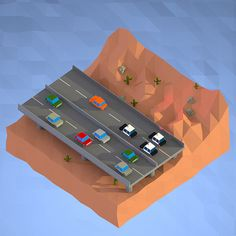Low Poly Car Chase