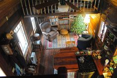 tiny home, salvaged materials