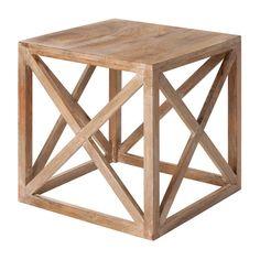 Cube Side Table. @André Araujo e @Marina Teixeira! para o pinterest do lusofusco!