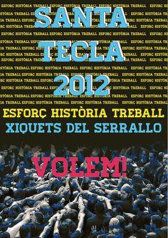 Santa Tecla 2012. Xiquets del Serrallo.
