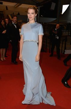 Cannes 2015 - Léa Seydoux in Miu Miu - Day 3 (montée des marches The Lobster)