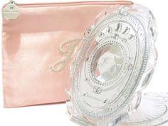 LOVE Jill Stuart Japan Makeup Compact Mirror II with Soft Pink Zipper Pouch
