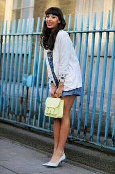 Cute London street chic