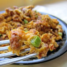 Spicy Southwestern Chorizo & Eggs