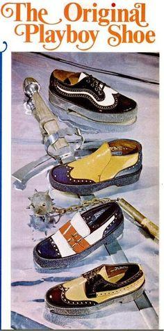 The original Playboy shoe