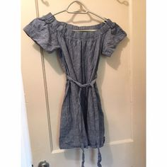 Acid wash dress! 💕 So cute! Comes to about my knees on me! Great condition! Says large but fits more like a medium Dresses