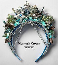 Mermaid Crown. Inspire me.