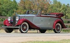 1937 Rolls-Royce 25/30 Wingham Four-Door Cabriolet