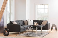 Cortlyn Deep Seating Sofa Collection, Only at Macy's Cleveland Sofa, 5 Piece Living Room, Living Rooms, Deep Seated Sofa, Straight Line Designs, Queen Sofa Sleeper, At Home Furniture Store, Living Room Accessories, Loveseat Sofa