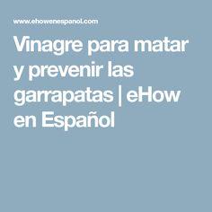 Vinagre para matar y prevenir las garrapatas | eHow en Español