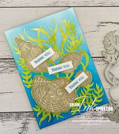 Thinking Stamping: Friends are Like Seashells for CI93 Living In New Zealand, Friends Are Like, Ink Pads, My Stamp, Embossing Folder, Free Coloring, Seashells, Stampin Up, Mini