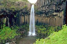 Columnar Basalt Waterfall