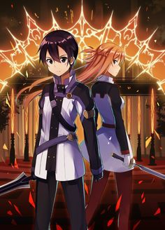 Kirito and Asuna - Ordinal Scale