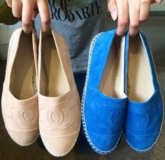 Chanel Flat Espadrilles