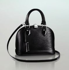 Louis Vuitton Black Epi Electric Alma BB Bag
