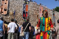 Hita ,SPAIN- 03 July ,2010 - Medieval Festival In HITA .Province ...