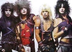 An awesome Motley Crue poster! Vince Neil, Nikki Sixx, Mick Mars, and Tommy Lee showing off their Wild Side! 80s Hair Metal, Hair Metal Bands, 80s Hair Bands, Glam Metal, Nikki Sixx, Girls Girls Girls, Rock & Pop, Rock And Roll, Motley Crue Poster