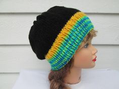Crochet hat Slouch Beanie Slouchy Beanie fashion by Ritaknitsall
