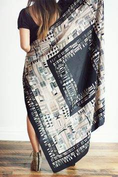 scarf -Woking Girl Designs