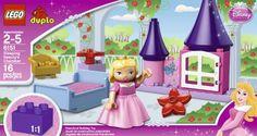 LEGO DUPLO Disney Princess Sleeping Beauty's Room 6151...