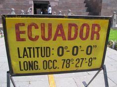 #Ecuador #Quito #Capital #mitaddelmundo #equator