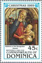ルネサンス ボッティチェッリ 絵画 『バラ園の聖母』