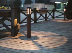 ulkovalaisin - Google-haku Lighting Solutions, Picnic Table, My Dream Home, Outdoor Lighting, Outdoor Gardens, Hardwood Floors, Lights, Led, House