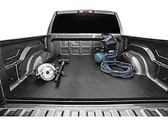 Black Armour Universal Bed Mat - The Biggest And Baddest Mat Around Chevy Colorado Accessories, Chevy Silverado Accessories, Truck Accessories, Gmc Canyon, Bed Mats, Nissan Titan, Toyota Trucks, Boats, Armour
