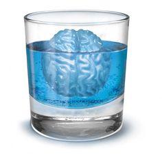 """Vi kender alle den ubehagelige slags brain freeze, men det her er noget helt andet! Med en brain freeze-isterningeform kan man fryse fire """"hjerner"""" ad gangen, og så har man straks det perfekte indhold til de drinks der skal serveres. I takt med at isterningen smelter, bliver hjernen mindre - den perfekte metafor, når der drikkes alkohol! Giv den til kammeraten, der altid bliver alt for fuld skrumper hjernen i alkohol til festerne."""