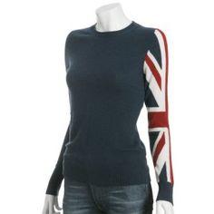 Union Jack sleeve.    I want this shirt