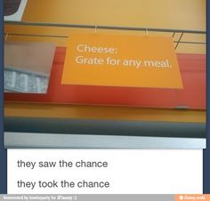 Grate for any meal puns!!