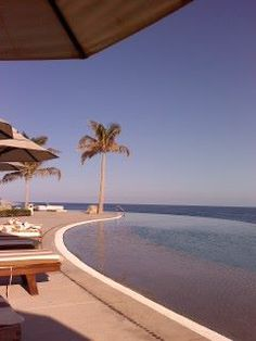 Really one of the most beautiful infinity pools we've ever seen are here Secrets Marquis Los Cabos Casitas, Golf and Spa