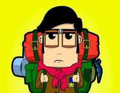 """Check out new work on my @Behance portfolio: """"Boy Scout"""" adobe ilustrator, ilustration, vector"""