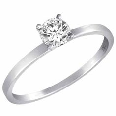 DivaDiamonds   0.45 ct. Round Diamond Solitaire Ring in 14K White Gold or Yellow Gold   3.6 out of 5 stars    See all reviews (11 customer reviews) |   Like   (0)  Suggested Price:$2,999.00  Price:$999.00   Sale:Lower price available on select options            Metal Type: white-gold