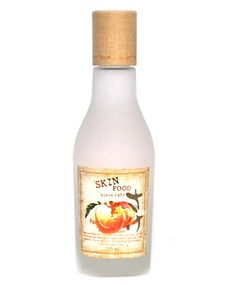 Skinfood Peach Sake Toner.  Suffering from a tired or stressed skin? Skinfood Peach Sake Toner revitalizes the skin!