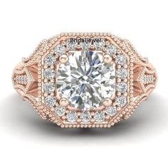 1-55Ct-Brilliant-Diamond-Halo-Rose-Gold-Engagement-925-Sterling-Silver-Ring