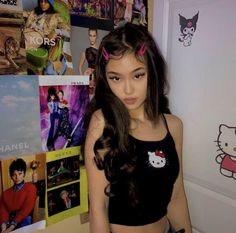 fashion in the pretty people Aesthetic Hair, Bad Girl Aesthetic, Aesthetic Fashion, Aesthetic Clothes, Aesthetic Grunge, Grunge Look, Grunge Style, Mode Outfits, Grunge Outfits
