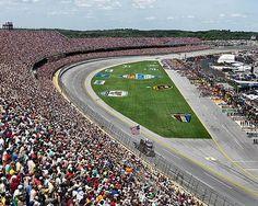 Edward Burtynsky, Talladega Speedway #1, Aaron Race Birmingham, Alabama