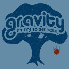 Gravity T-shirt :: T-Shirts :: the mental_floss store