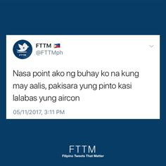 Filipino Funny, Filipino Quotes, Memes Pinoy, Tagalog Quotes, Hugot Quotes, Hugot Lines, 3am Thoughts, About Twitter, Relatable Tweets