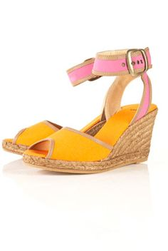 Should I or shouldn't I? These #TopShop wedges are adorable but for $100? Anybody here have experience with #TopShop shoes?