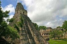 Tikal, Guatemala    Stay overnight in the national park for the ultimate experience at Tikal, an ancient Maya city in northern Guatemala