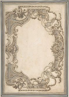 Design for a Ceiling  Jean Berain  (French, Saint-Mihiel 1640–1711 Paris)