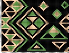 모칠라백 그 두번째! +도안 : 네이버 블로그 Beading Patterns Free, Bead Loom Patterns, Cross Stitch Patterns, Tapestry Bag, Tapestry Weaving, Tapestry Crochet Patterns, Quilt Patterns, Crochet Chart, Knit Or Crochet