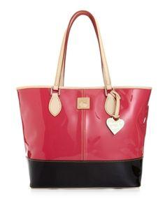 Dooney & Bourke Handbag, Patent Shopper in March Ready to Wear Fashion 2013 from Macy's on shop.CatalogSpree.com, my personal digital mall.