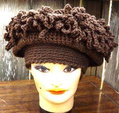 Crochet Pattern  Crochet Hat Pattern Women ❤ by strawberrycouture, $5.00