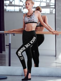Your head-to-toe Fashion Show workout look is here. | Victoria's Secret