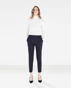 Image 1 of RIB TROUSERS from Zara
